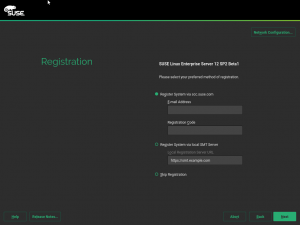 New Registration UI