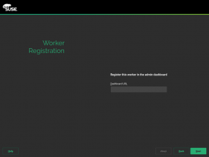 Configuration screen for the Worker role